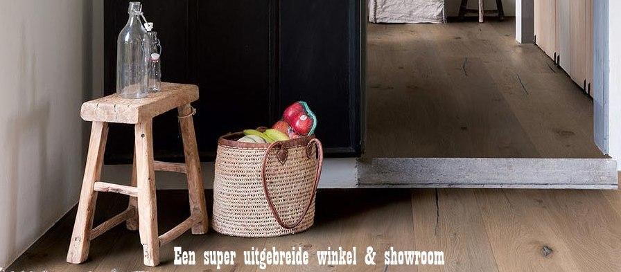 Is er een houten vloerenwinkel in Groningen