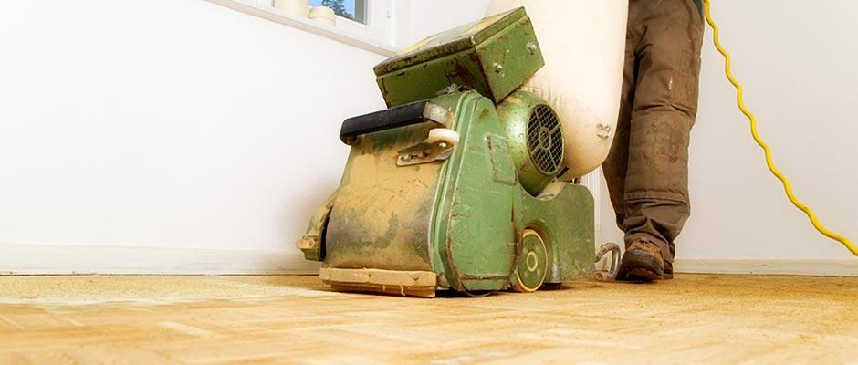 Houten vloeren renoveren