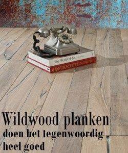 Wildwood houten vloer